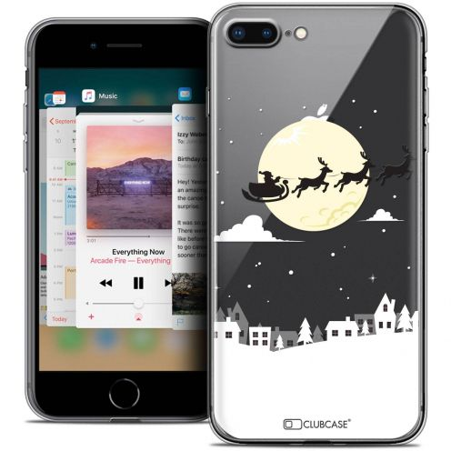 "Coque Crystal Gel Apple iPhone 8 Plus (5.5"") Extra Fine Noël 2017 - Flying Stanta"