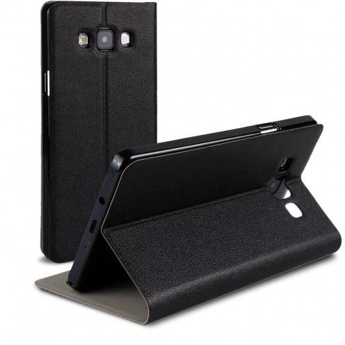 Etui Galaxy A7 Slim Folio Smart Magnet Noir