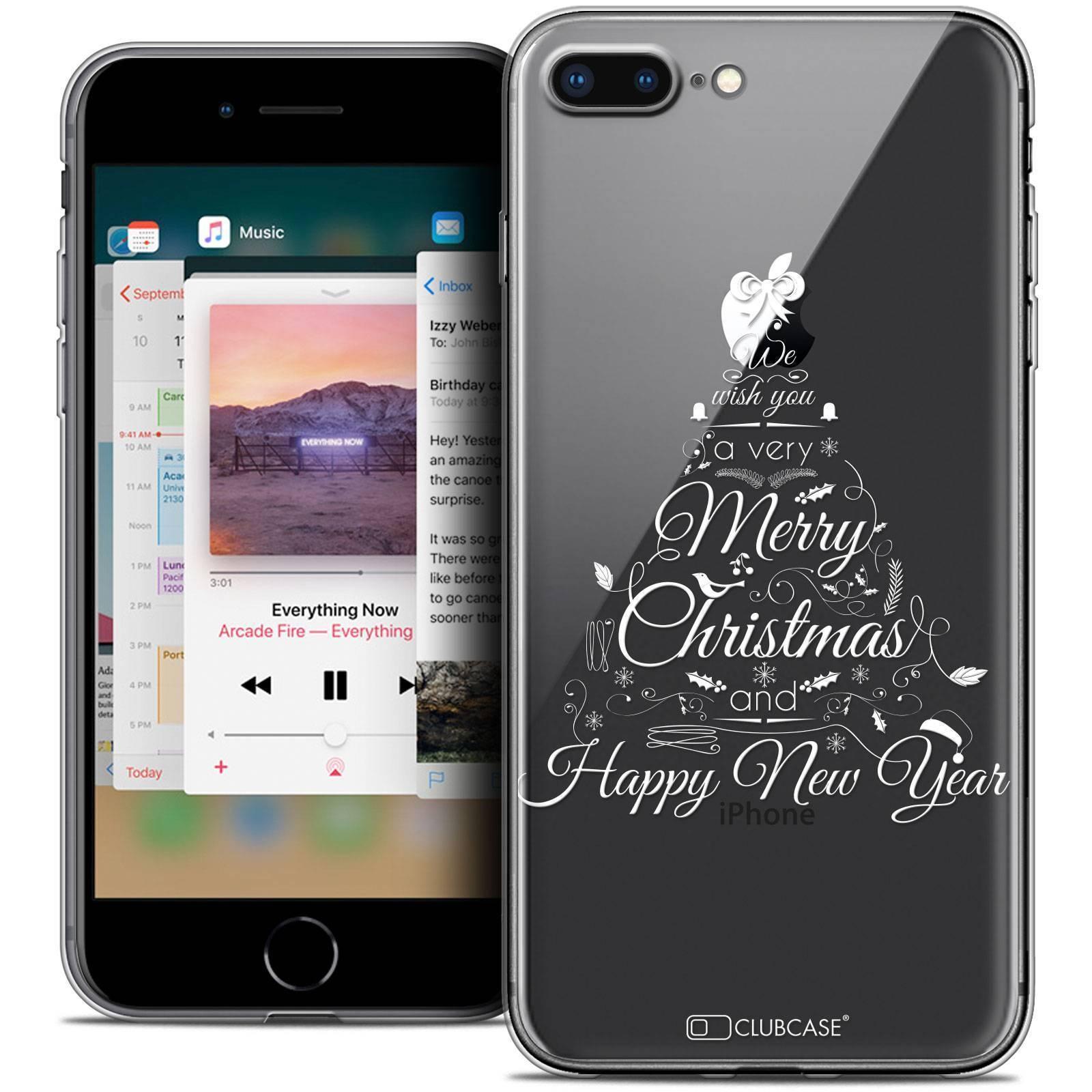 Coque Crystal Gel Apple iPhone 8 Plus (5.5