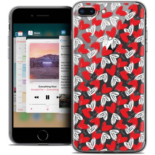"""Coque Crystal Gel Apple iPhone 8 Plus (5.5"""") Extra Fine Love - With Love"""