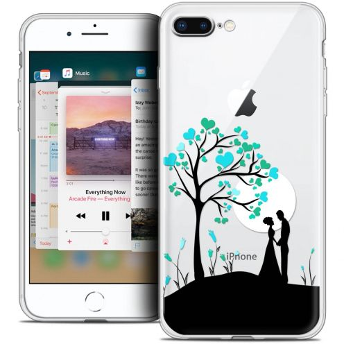 "Coque Crystal Gel Apple iPhone 8 Plus (5.5"") Extra Fine Love - Sous l'arbre"