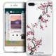 "Coque Crystal Gel Apple iPhone 8 Plus (5.5"") Extra Fine Summer - Sakura"