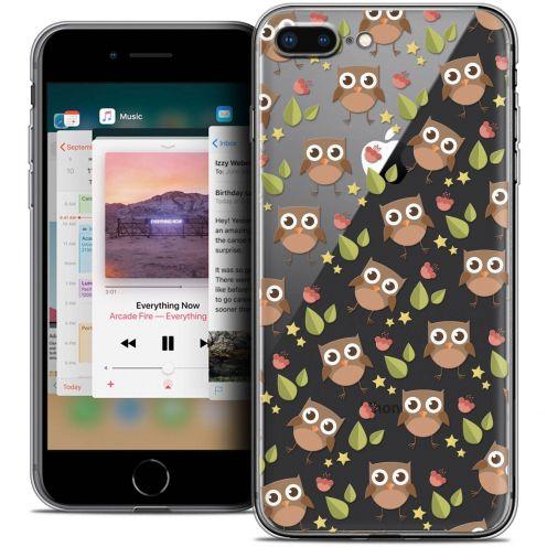 "Coque Crystal Gel Apple iPhone 8 Plus (5.5"") Extra Fine Summer - Hibou"