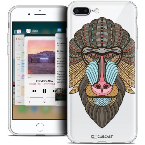 "Coque Crystal Gel Apple iPhone 8 Plus (5.5"") Extra Fine Summer - Babouin"