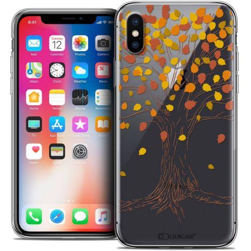 "Coque Crystal Gel Apple iPhone Xs / X (5.8"") Extra Fine Autumn 16 - Tree"