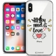 """Coque Crystal Gel Apple iPhone Xs / X (5.8"""") Extra Fine Love - All U Need Is"""