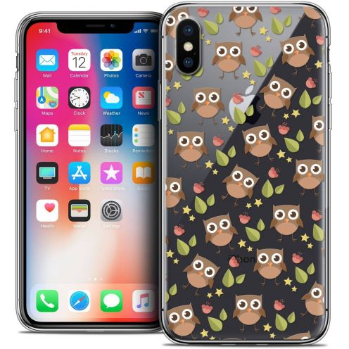 """Coque Crystal Gel Apple iPhone Xs / X (5.8"""") Extra Fine Summer - Hibou"""