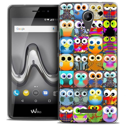 """Coque Crystal Gel Wiko Tommy 2 (5"""") Extra Fine Claude - Hibous"""
