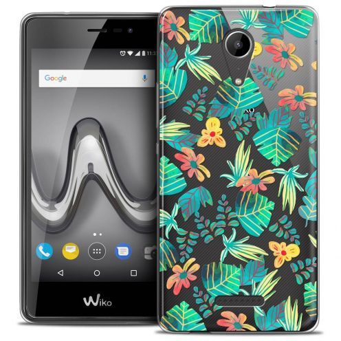 """Coque Crystal Gel Wiko Tommy 2 (5"""") Extra Fine Spring - Tropical"""