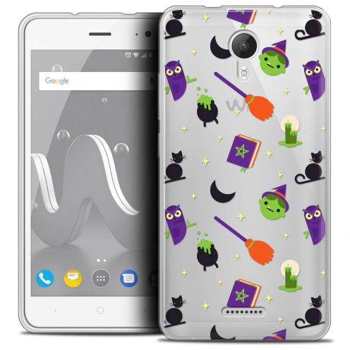"Coque Crystal Gel Wiko Jerry 2 (5"") Extra Fine Halloween - Witch Potter"