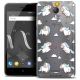 """Coque Crystal Gel Wiko Jerry 2 (5"""") Extra Fine Fantasia - Licorne In the Sky"""