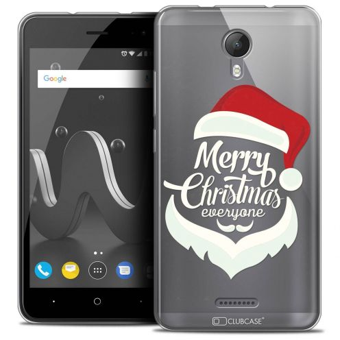 "Coque Crystal Gel Wiko Jerry 2 (5"") Extra Fine Noël 2017 - Merry Everyone"