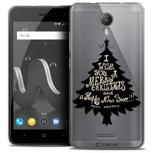 "Coque Crystal Gel Wiko Jerry 2 (5"") Extra Fine Noël 2017 - XOXO Tree"