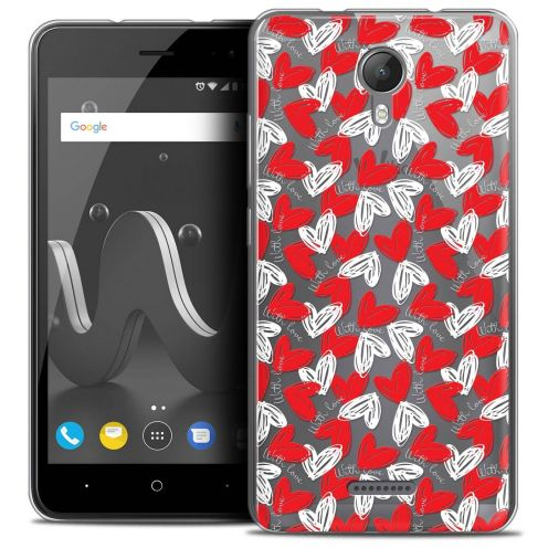 "Coque Crystal Gel Wiko Jerry 2 (5"") Extra Fine Love - With Love"
