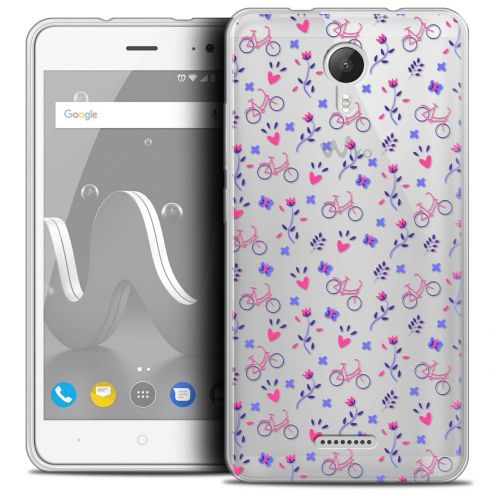 "Coque Crystal Gel Wiko Jerry 2 (5"") Extra Fine Love - Bicycle"