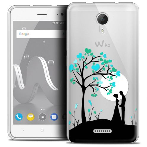 "Coque Crystal Gel Wiko Jerry 2 (5"") Extra Fine Love - Sous l'arbre"