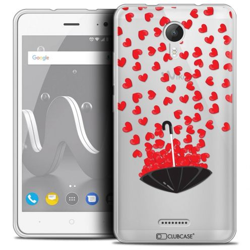 "Coque Crystal Gel Wiko Jerry 2 (5"") Extra Fine Love - Parapluie d'Amour"
