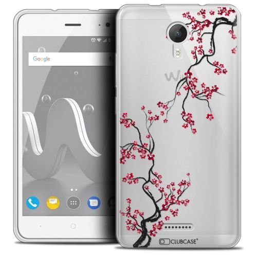 "Coque Crystal Gel Wiko Jerry 2 (5"") Extra Fine Summer - Sakura"