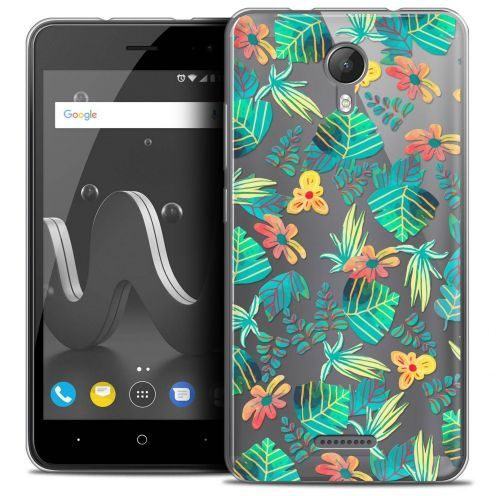 "Coque Crystal Gel Wiko Jerry 2 (5"") Extra Fine Spring - Tropical"