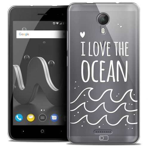 "Coque Crystal Gel Wiko Jerry 2 (5"") Extra Fine Summer - I Love Ocean"