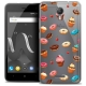 "Coque Crystal Gel Wiko Jerry 2 (5"") Extra Fine Foodie - Donuts"