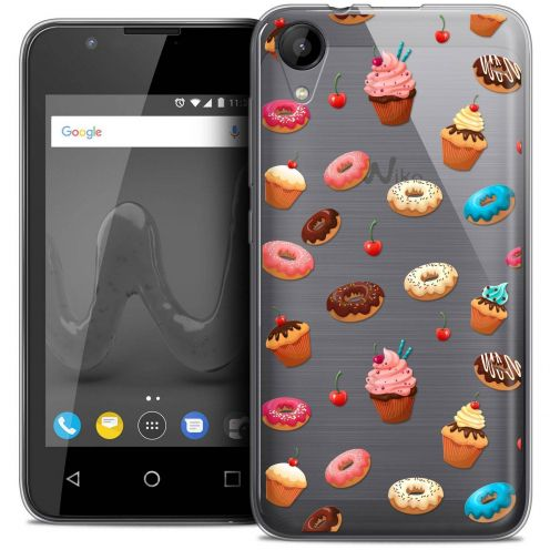 """Coque Wiko Sunny 2 Crystal Gel (4"""") Extra Fine Foodie - Donuts"""
