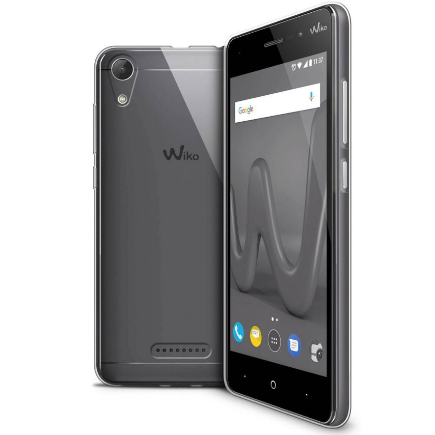 "Coque Wiko Lenny 4 (5"") Extra Fine Souple Crystal Clear"