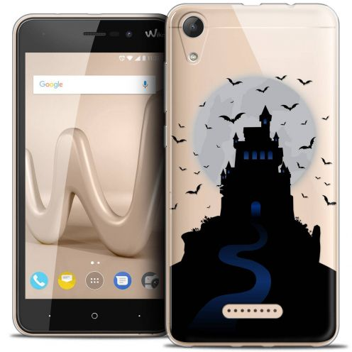 "Coque Crystal Gel Wiko Lenny 4 (5"") Extra Fine Halloween - Castle Nightmare"