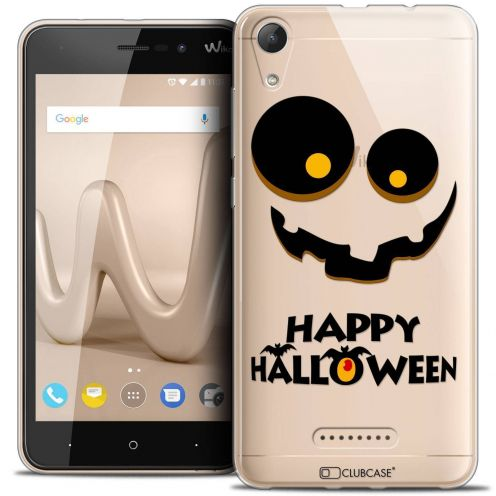 "Coque Crystal Gel Wiko Lenny 4 (5"") Extra Fine Halloween - Happy"