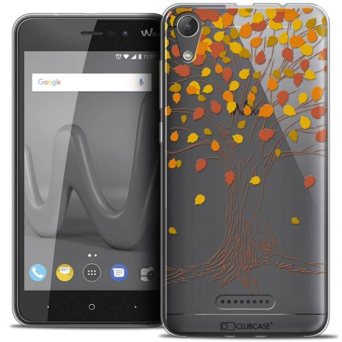 "Coque Crystal Gel Wiko Lenny 4 (5"") Extra Fine Autumn 16 - Tree"