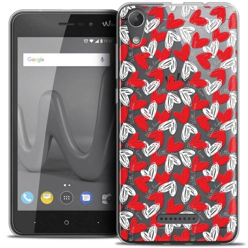 "Coque Crystal Gel Wiko Lenny 4 (5"") Extra Fine Love - With Love"