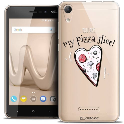 """Coque Crystal Gel Wiko Lenny 4 (5"""") Extra Fine Love - My Pizza Slice"""