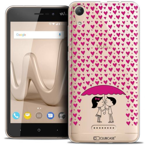 """Coque Crystal Gel Wiko Lenny 4 (5"""") Extra Fine Love - Pluie d'Amour"""