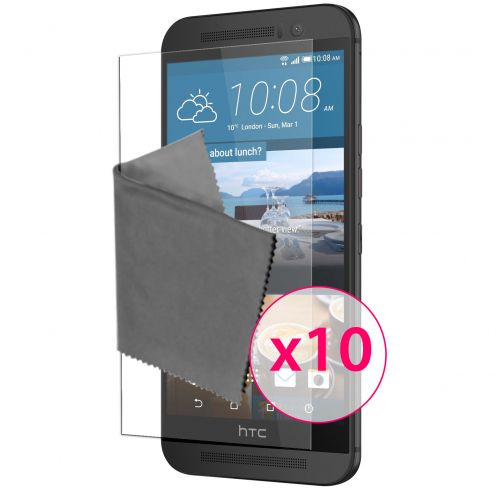 Zoom sur Films de protection HTC One M9 Clubcase ® HD Lot de 10