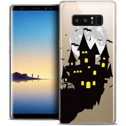 "Coque Crystal Gel Samsung Galaxy Note 8 (6.3"") Extra Fine Halloween - Castle Dream"