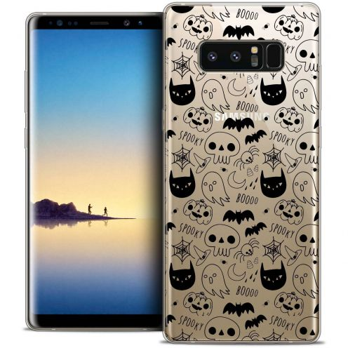 "Coque Crystal Gel Samsung Galaxy Note 8 (6.3"") Extra Fine Halloween - Spooky"
