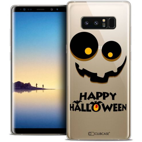 "Coque Crystal Gel Samsung Galaxy Note 8 (6.3"") Extra Fine Halloween - Happy"