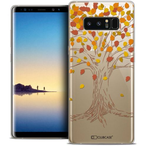 "Coque Crystal Gel Samsung Galaxy Note 8 (6.3"") Extra Fine Autumn 16 - Tree"