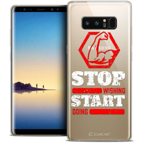 "Coque Crystal Gel Samsung Galaxy Note 8 (6.3"") Extra Fine Quote - Start Doing"