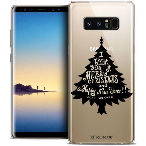 "Coque Crystal Gel Samsung Galaxy Note 8 (6.3"") Extra Fine Noël 2017 - XOXO Tree"