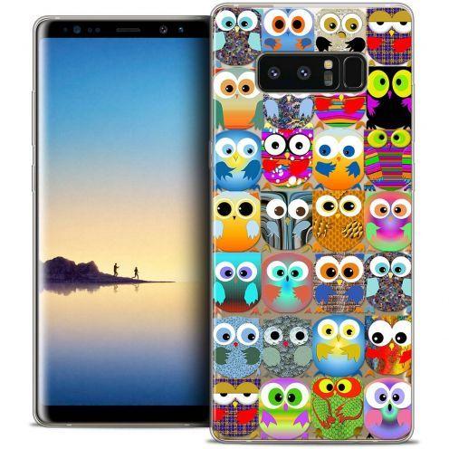"""Coque Crystal Gel Samsung Galaxy Note 8 (6.3"""") Extra Fine Claude - Hibous"""