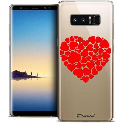 """Coque Crystal Gel Samsung Galaxy Note 8 (6.3"""") Extra Fine Love - Coeur des Coeurs"""