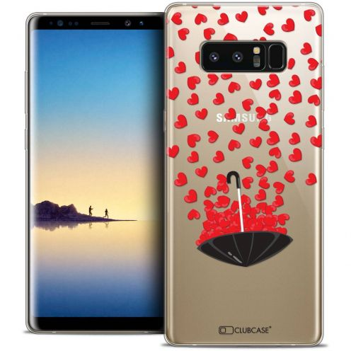 "Coque Crystal Gel Samsung Galaxy Note 8 (6.3"") Extra Fine Love - Parapluie d'Amour"