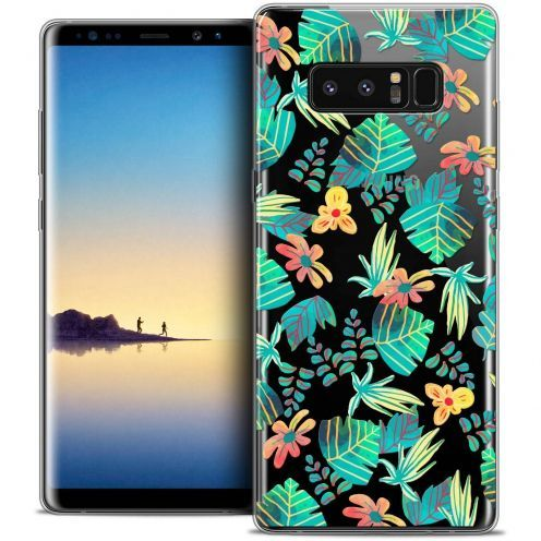 "Coque Crystal Gel Samsung Galaxy Note 8 (6.3"") Extra Fine Spring - Tropical"