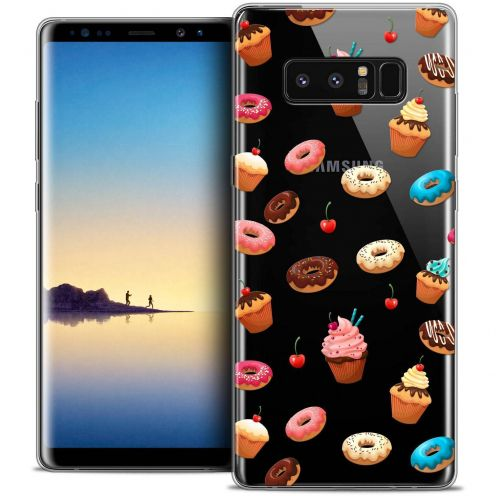 "Coque Crystal Gel Samsung Galaxy Note 8 (6.3"") Extra Fine Foodie - Donuts"