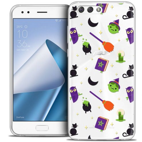 "Coque Crystal Gel Asus Zenfone 4 ZE554KL (5.5"") Extra Fine Halloween - Witch Potter"