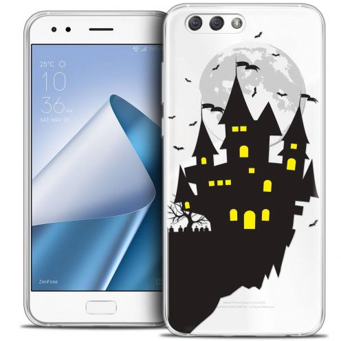 "Coque Crystal Gel Asus Zenfone 4 ZE554KL (5.5"") Extra Fine Halloween - Castle Dream"