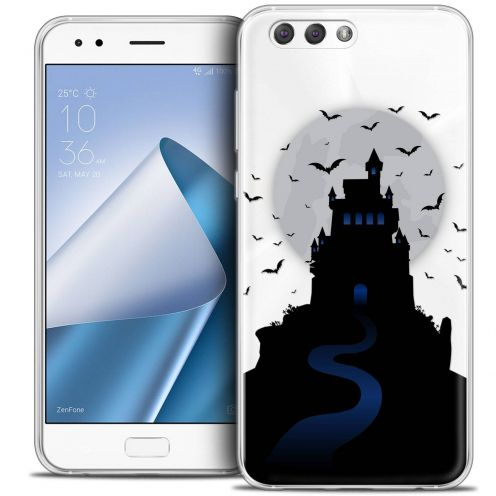 "Coque Crystal Gel Asus Zenfone 4 ZE554KL (5.5"") Extra Fine Halloween - Castle Nightmare"
