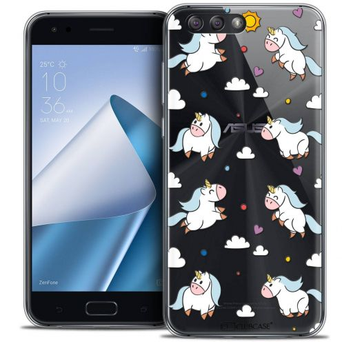 "Coque Crystal Gel Asus Zenfone 4 ZE554KL (5.5"") Extra Fine Fantasia - Licorne In the Sky"