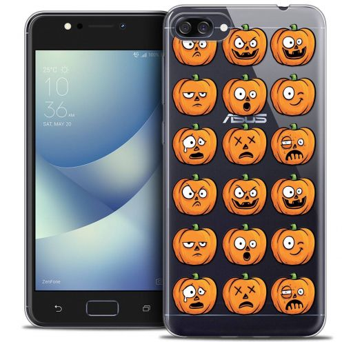 "Coque Crystal Gel Asus Zenfone 4 MAX ZC520KL (5.2"") Extra Fine Halloween - Cartoon Citrouille"
